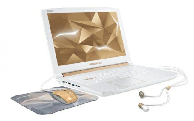 ゲーミングノートPC「Predator」に限定モデル「Helios 300 WHITE EDITION」が登場