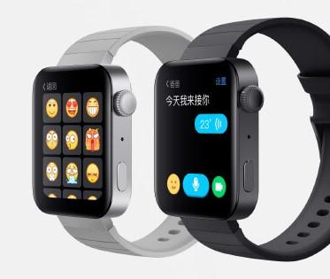 Xiaomi「Mi Watch」でアプリを使用している画面