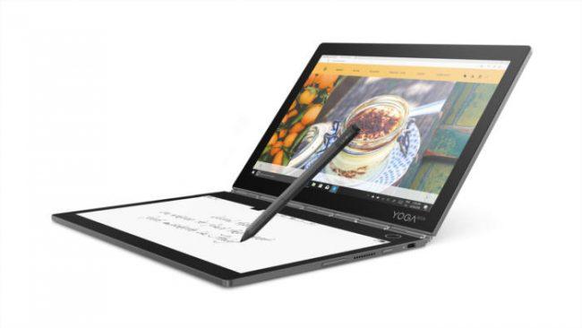 レノボ、キーボード部がE Inkディスプレイになった「YogaBook C930」を発売!