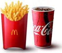 マクドナルド、Mサイズの1.7倍のポテト「グランドフライ」を発売!コーラも2倍に