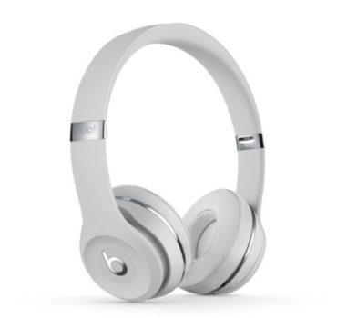 Beats Solo3 Wireless オンイヤーヘッドフォンのサテンシルバー