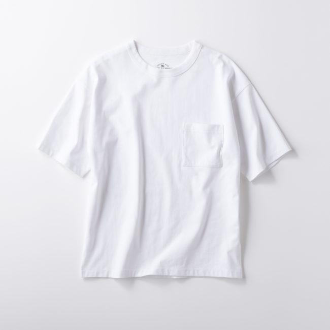 無地ポケットTシャツ