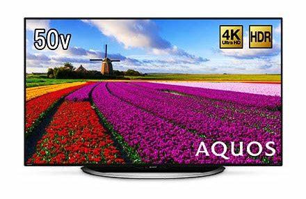 シャープ 4K対応液晶テレビ
