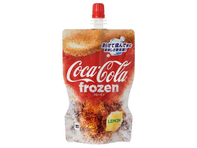 凍らせて飲む「コカ・コーラ フローズン レモン」が新発売!