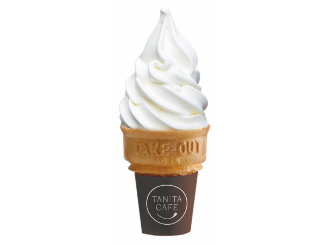 タニタカフェで豆乳ソフトクリームのフルーツソース無料キャンペーンが開始