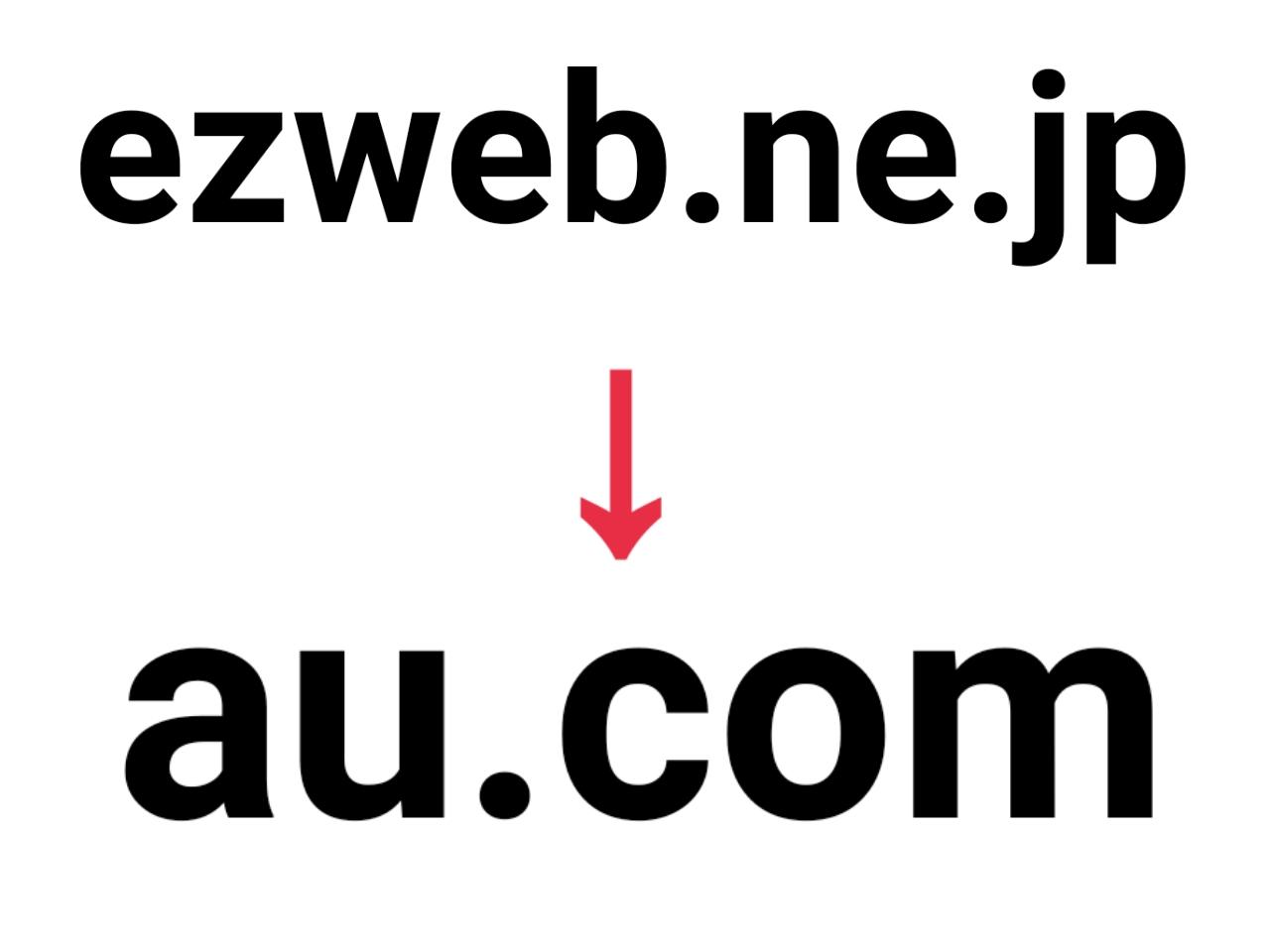 auが新メールドメイン「au.com」を5月15日から提供開始!より短く分かりやすく