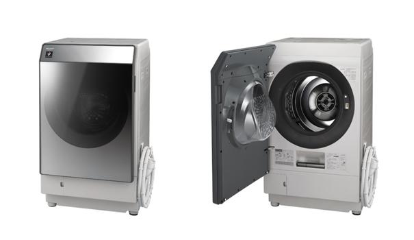 シャープ、プラズマクラスター洗濯乾燥機「ES-W111」を発売!Wi-Fi対応でスマホと連携