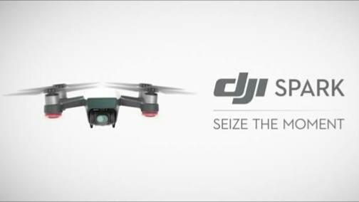 ジェスチャー操作可能なDJIの小型ドローン「Spark」が初心者に最適