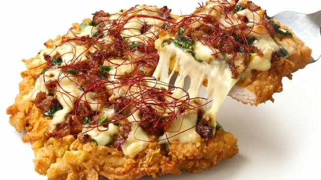 ケンタッキー、チキンにビーフをトッピングした「チッザ プルコギ」を新発売!