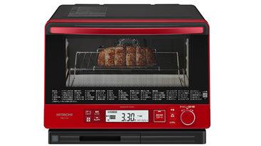 過熱水蒸気オーブンレンジ「ヘルシーシェフ(MRO-TW1)」が登場!3品を4人分同時自動調理