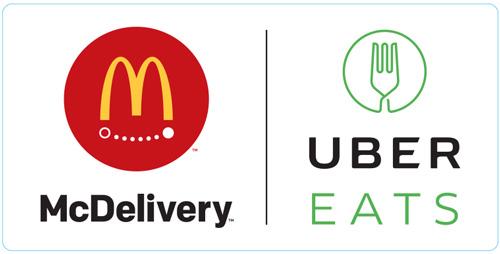 マクドナルドが都内33店舗で「UberEATS」を導入!1品でも注文可能