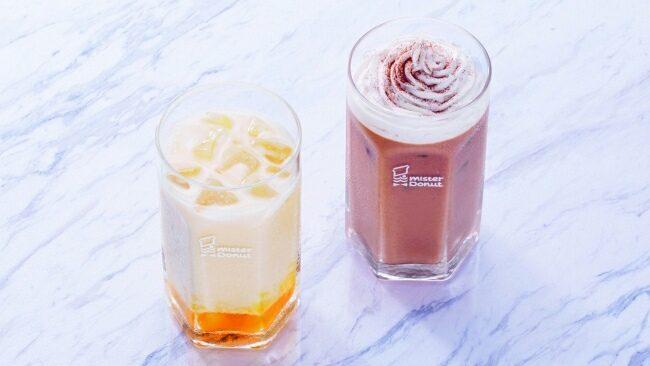 ミスド、「マンゴーラッシー」と「マサラチャイ 豆乳ホイップ」を夏季限定発売
