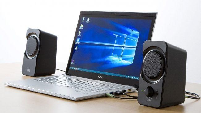 迫力ある音を簡単に楽しめるUSB電源スピーカー「MM-SPL13UBK」が発売