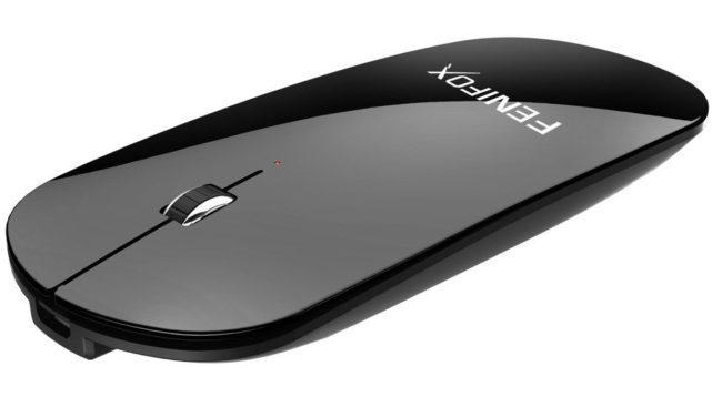 胸ポケットに入るサイズのFENIFOXのBluetooth薄型マウスが大人気!