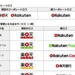 楽天がロゴを変更し「Rakuten」ブランドを強化すると発表