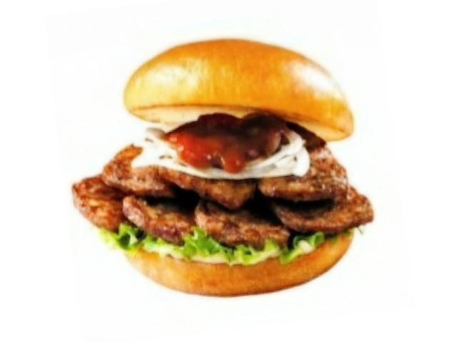 ロッテリアにボリュームとソースが選べる「やわらか焼肉バーガー」が登場!
