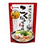 2種の味噌をブレンドした「こくだし味噌鍋つゆ」が発売!