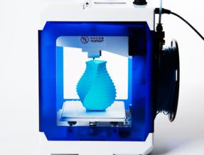 3Dプリンタ「BS CUBE」の印刷風景