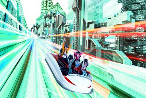 VRジェットコースター「VR-KING」のイメージ