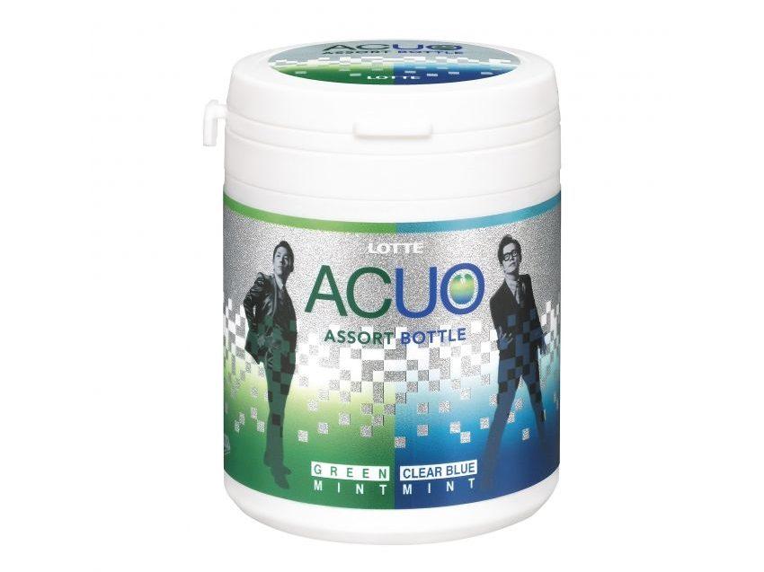 2種類にミントが楽しめる「ACUO ミントアソートファミリーボトル」が発売