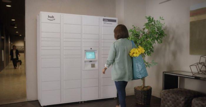 Amazon、宅配ボックスサービス「The Hub」を発表!