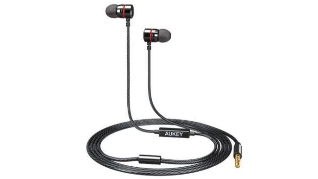 AUKEY、金属素材を採用したカナル型イヤホン「EP-X3」を発売