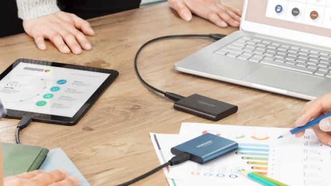 USB-CのポータブルSSD「Samsung Portable SSD T5」が発売!