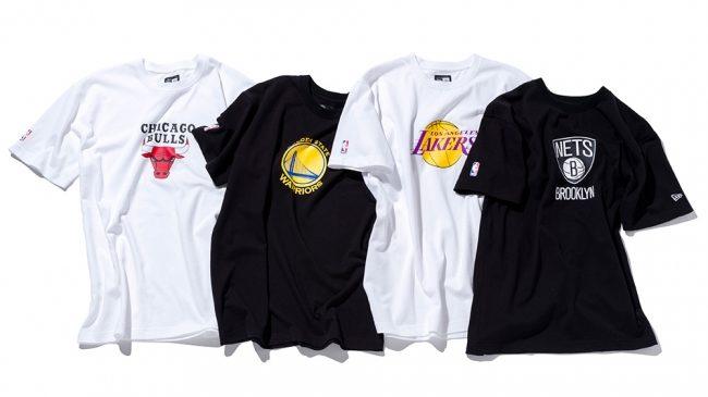 「ニューエラ」にNBAの球団ロゴをフィーチャーしたTシャツが初登場!