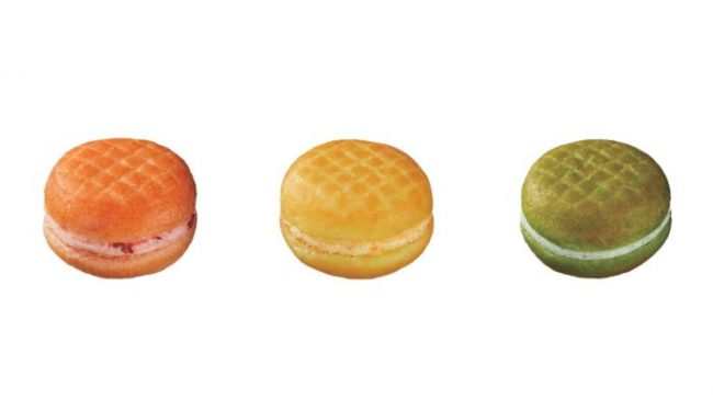 ミスタードーナツ、タニタと共同開発した「ベジポップ」3種を発売!