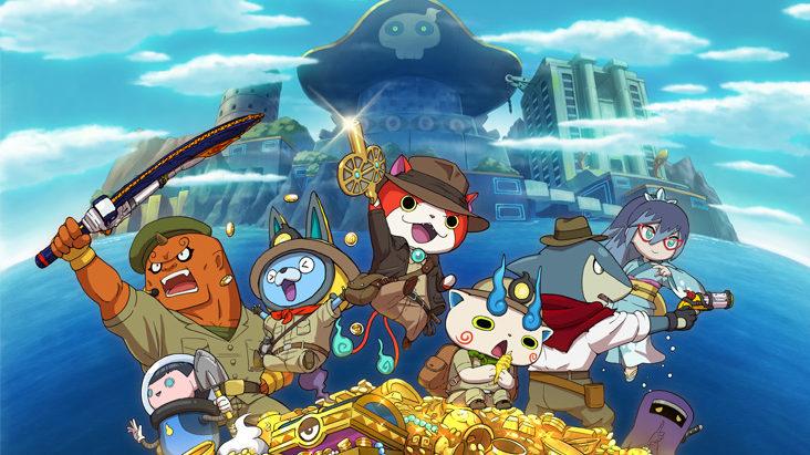 最新作3DSソフト「妖怪ウォッチバスターズ2」が2017年冬に発売決定!
