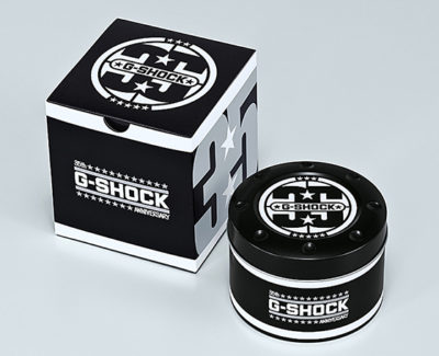 G-SHOCK「BIG BANG BLACK」専用パッケージ