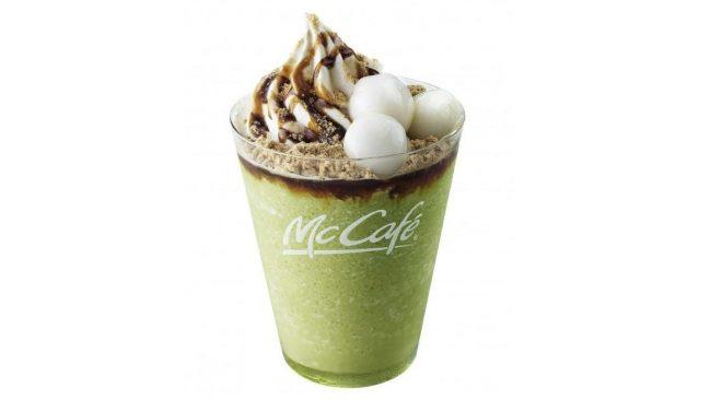 マクドナルドが新商品「黒蜜きなこ抹茶フラッペ」を期間限定発売!