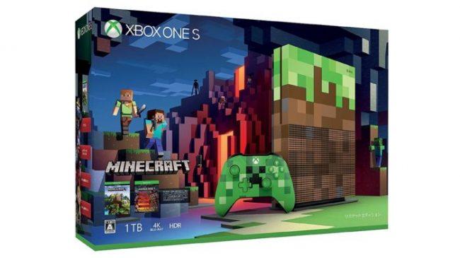 マインクラフトのデザインを施した「Xbox One S 1 TB」が数量限定発売決定!