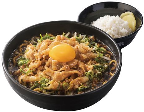 総重量1.2kgの「肉盛りすたみな麺(ごはん付)」が期間限定で登場!