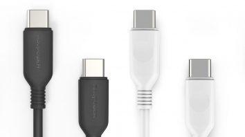 急速充電もデータ転送もできる「USB-C to USB-Cケーブル」が新発売!2本セットで使い勝手抜群