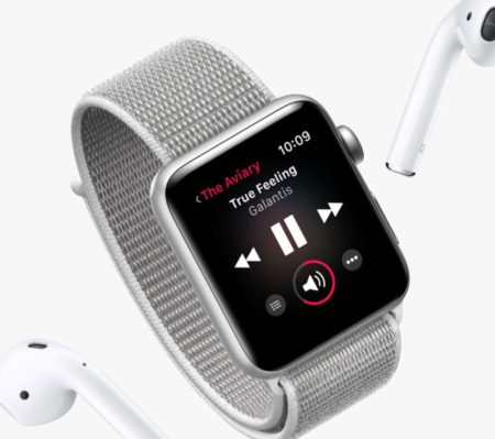 「Apple Watch Series 3」のワイヤレスチップ
