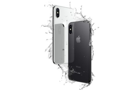 「iPhone X」の防水防塵性能