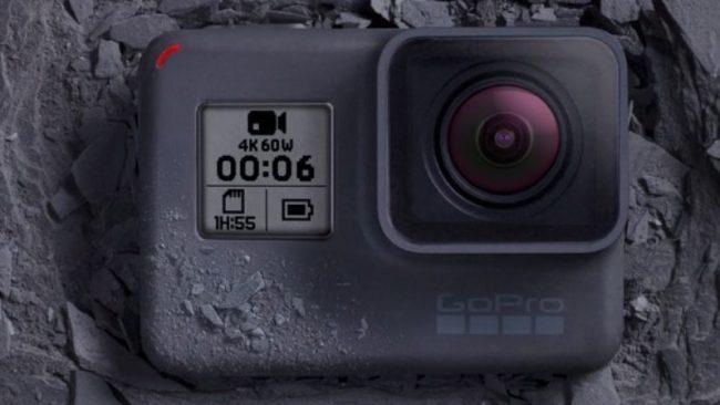 GoProが4K60fps撮影対応の「HERO 6 Black」を発売!夜でも明るく撮れる