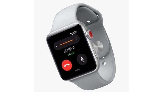 Appleが「Apple Watch Series 3」を発表!単体で通信や通話が可能に