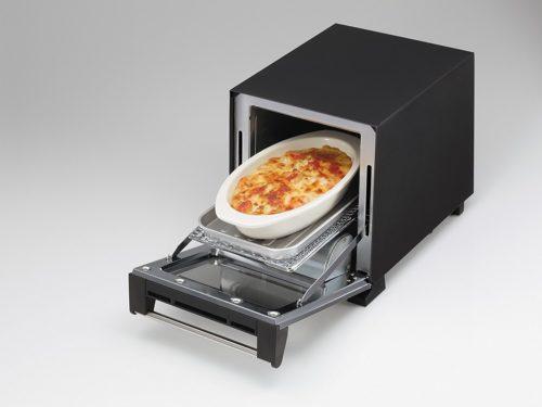 オーバル型のグラタン皿も入るツインバード スリムオーブントースター