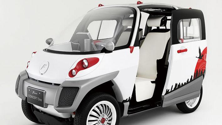 FOMMのコンパクトな電気自動車
