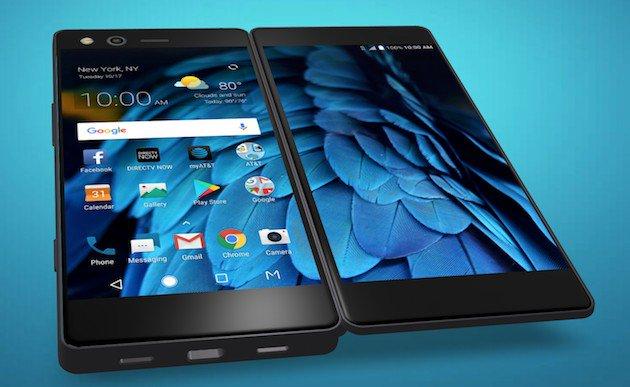 ZTEが2画面搭載Androidスマートフォン「Axon M」を発表