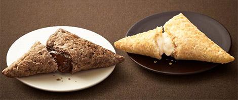 マックに今年も「三角チョコパイ」の黒と白が登場!パッケージの柄に秘密が…