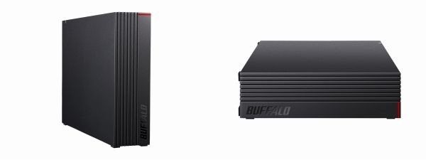 「HD-LDU3-Aシリーズ」は縦置きも横置きもできる