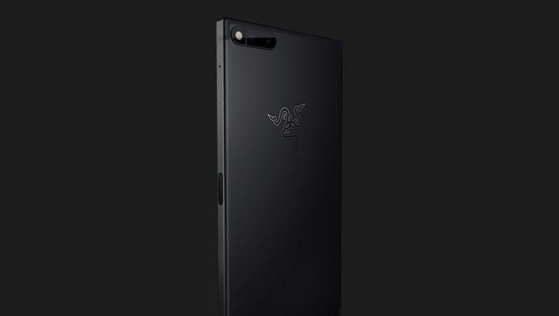 「Razer Phone」の背面の画像