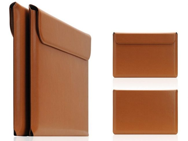 SLG Design、一枚裁ち高級合成皮革の「MacBook Pro ポーチ」を発売!