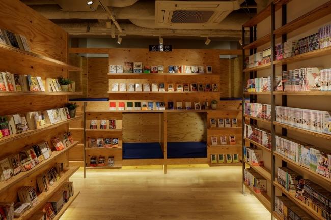 「TSUTAYA BOOK APARTMENT」のリラックススペース
