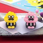 「うんこ漢字ドリル」の「うんこ先生」の和菓子が発売!練り切りで再現