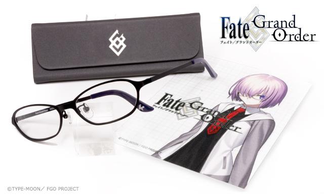 「Fate/Grand Order マシュ・キリエライト イメージコラボレーション眼鏡」3点セット