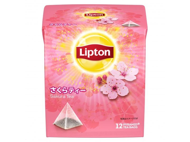 リプトンから桜餅のような香りの「さくらティー」が数量限定発売!